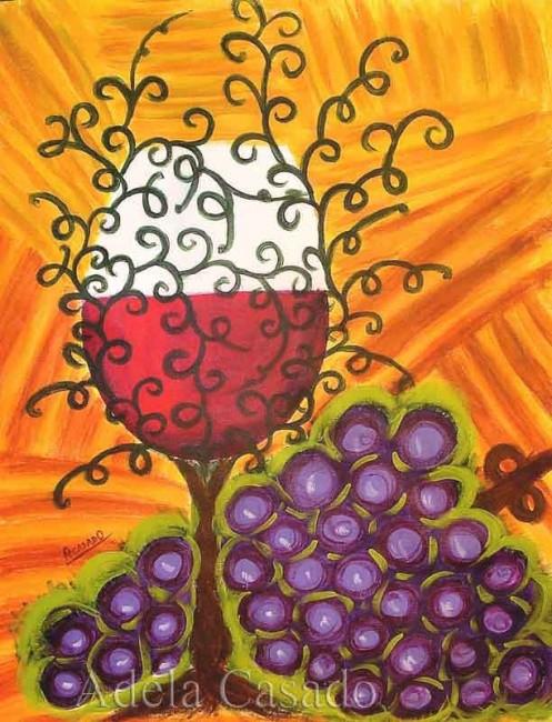 Adela Casado - WINE GLASS / COPA DE VINO