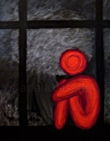 Pintura, acrílico, arte conceptual, obra de arte por Adela Casado Cano (Adela Casado)