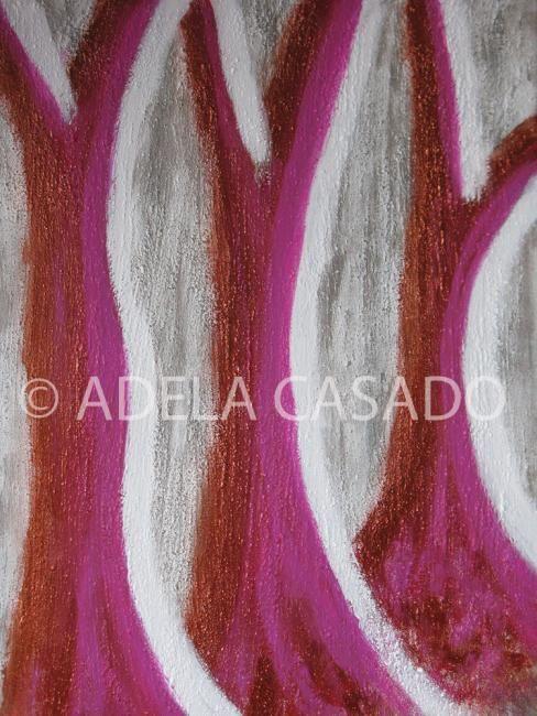 Adela Casado - TRONCOS SOBRE PLATEADOS